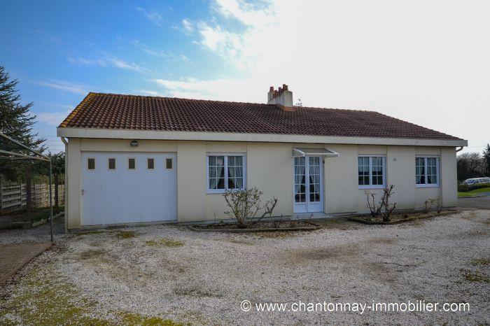Maison de plain-pied proche centre ville de CHANTONNAY à vendre CHANTONNAY au prix de 138450 euros