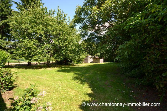 Maison de plain-pied bel environnement proche commerces LA CAILLERE ST HILAIRE immobilier à vendre au prix de 101650 euros